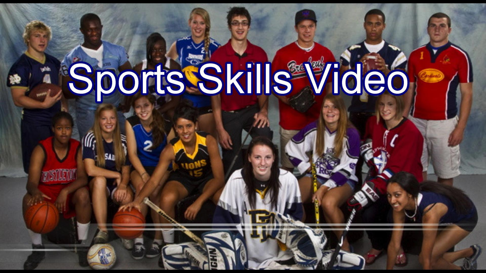 GET RECRUITED! SIGN UP FOR YOUR SPORTS SKILLS VIDEO TODAY!
